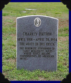 Charlie Patton Grave 2