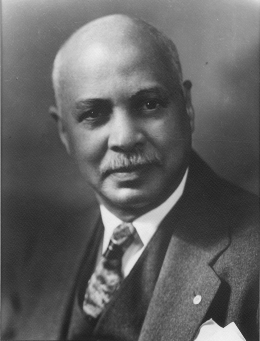 "W.C. Handy ""Father of the Blues"". African-American composer, musician and music publisher."