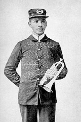 W.C Handy at the age of 19 years old