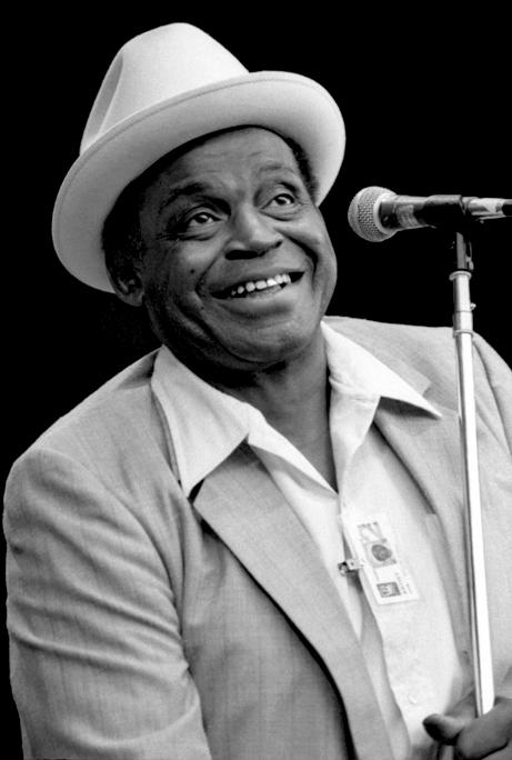 Willie Dixon at Monterey Jazz Festival, 1981: Wikimedia Commons