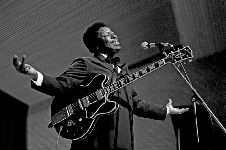 B.B. King in 1971. Photo Credit - Wikimedia Commoms